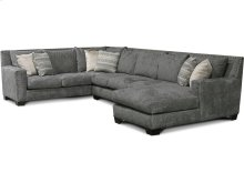 Del Mar Luckenbach Sectional with Nails 7K00N-Sect
