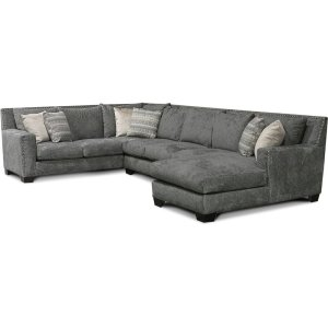 England Furniture7K00N-Sect Luckenbach Sectional with Nails