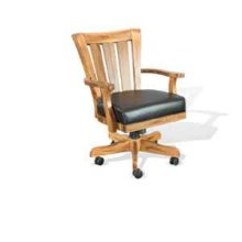 Sedona Game Chair w/ Casters, Cushion Seat