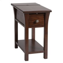 Walton 1-drawer Chairsider In Cherry Finish