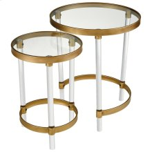Konig Round Accent Tables