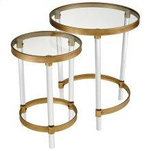 Konig Round Accent Tables