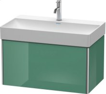 Vanity Unit Wall-mounted, For Durasquare # 235380jade High Gloss Lacquer