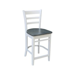 JOHN THOMAS FURNITUREEmily Stool in White Grey
