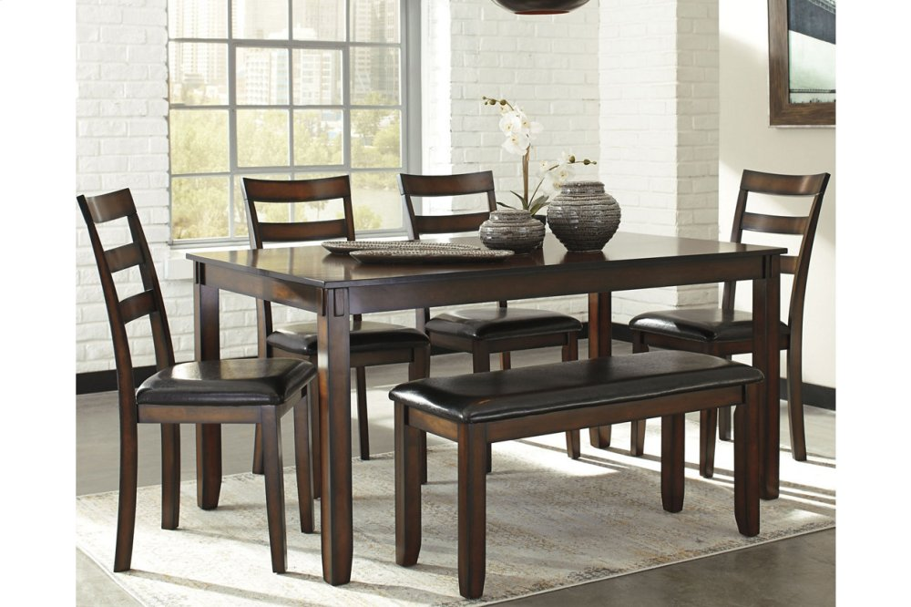 D385325Ashley Furniture Dining Room Table Set (6/cn ...