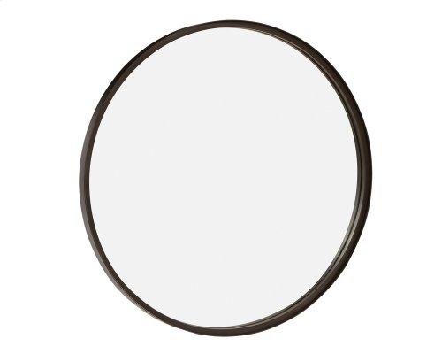 Blackened Bronze Banded Mirror