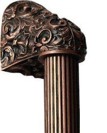 Acanthus - Antique Copper Fluted Bar