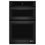 """JENN-AIRBlack Floating Glass 27"""" Microwave/Wall Oven with MultiMode(R) Convection System"""