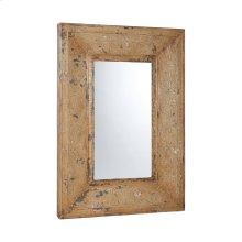 Stamped Metal Floor Mirror