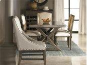 Flatiron Table - Brownstone