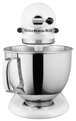 Artisan® Series 5 Quart Tilt-Head Stand Mixer - Matte White