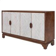 Romano Mozaic Sideboard 4 Doors, Rustic Ebony Product Image
