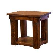 Walnut Lauro End Table
