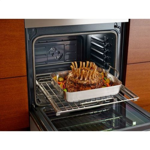 "Jenn-Air® 30"" Induction Range, Euro-Style Stainless Handle"