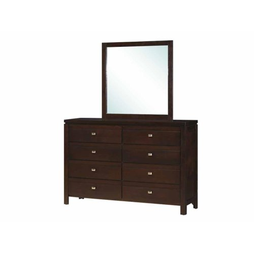 Cameron Rich Brown Dresser Mirror