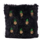 Pineapple Pillow Black & Gold Product Image