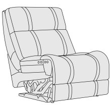 Hartwell Armless Power Motion Chair