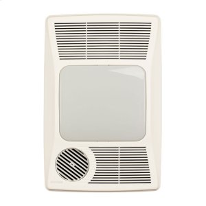 BroanHeater/Fan/Light, 1500W Heater, 100W Incandescent Light, 100CFM