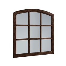 Shop Floor Belgian Window Mirror