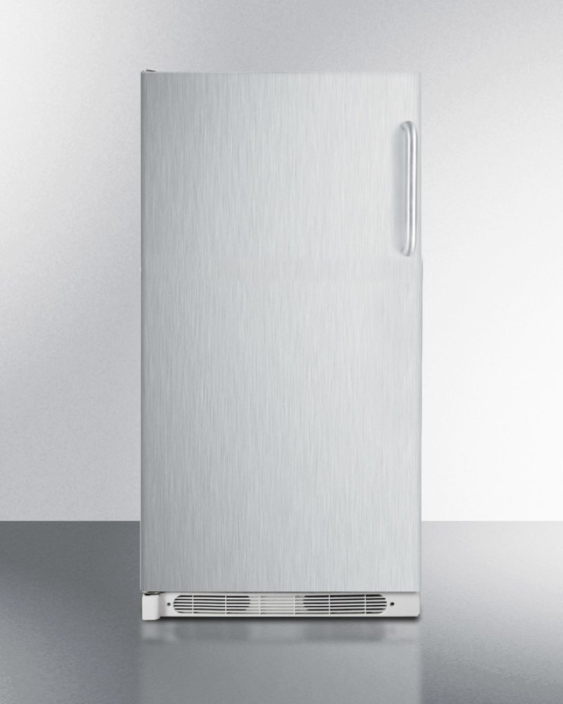 Large Capacity All Refrigerator With Frost Free Operation Stainless Steel Door And Towel