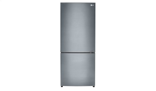 "15 cu. ft. Large Capacity 28"" Wide Bottom Freezer Refrigerator"
