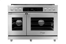 "48"" Heritage Dual Fuel Pro Range, Color Match Natural Gas/High Altitude"