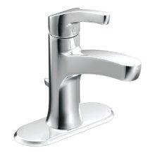 Danika chrome one-handle bathroom faucet