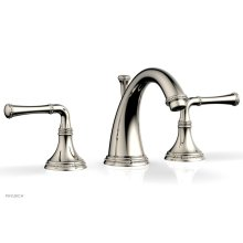 BEADED Widespread Faucet Lever Handles 207-01 - Polished Nickel