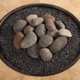 Hi-heat Ceramic Rock Kit W/ Lava Granules
