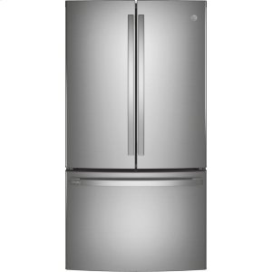 GEGE Profile™ ENERGY STAR® 23.1 Cu. Ft. Counter-Depth Fingerprint Resistant French-Door Refrigerator