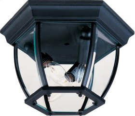 3-Light Outdoor Ceiling Mount