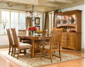 Pasadena Revival Dining Trestle Table
