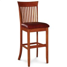 "Loft Stationary Barstool, 24"" Seat Height"