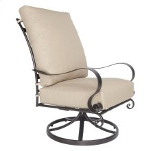 Hi-back Swivel Rocker Lounge Chair