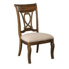 Portolone Harp Back Side Chair