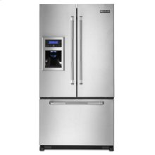 Full-Depth Pro-Style® French Door Refrigerator with External Dispenser