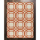 Arabesque Rug-Coral-5' x 8' Product Image