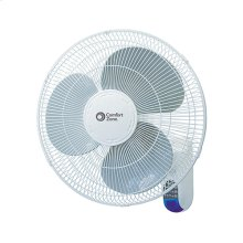 CZ16WR 16-inch Wall Mount Fan with Remote, White