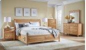 Cal. King Panel Storage Bed