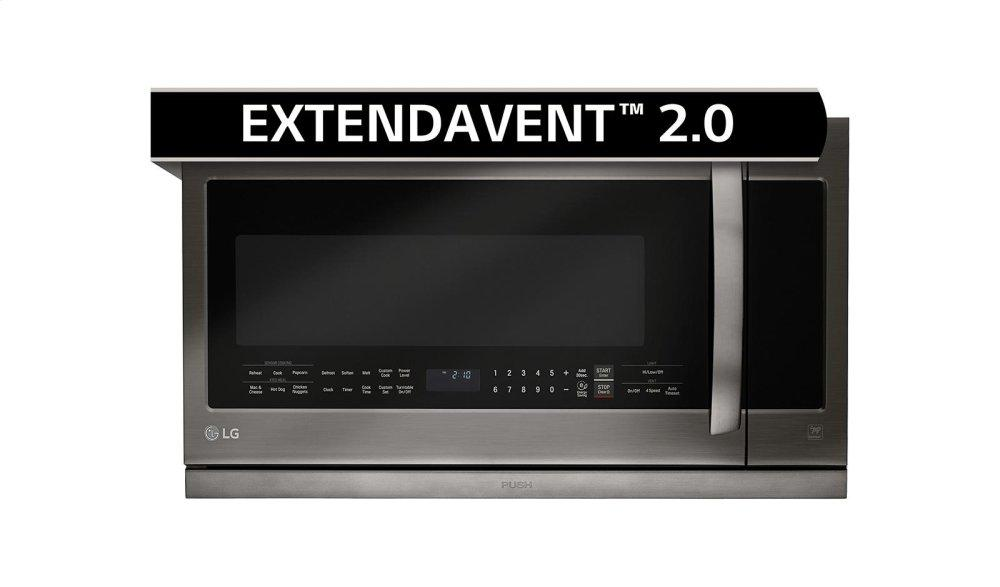 2.2 cu. ft. Over-the-Range Microwave Oven with EasyClean® Photo #1