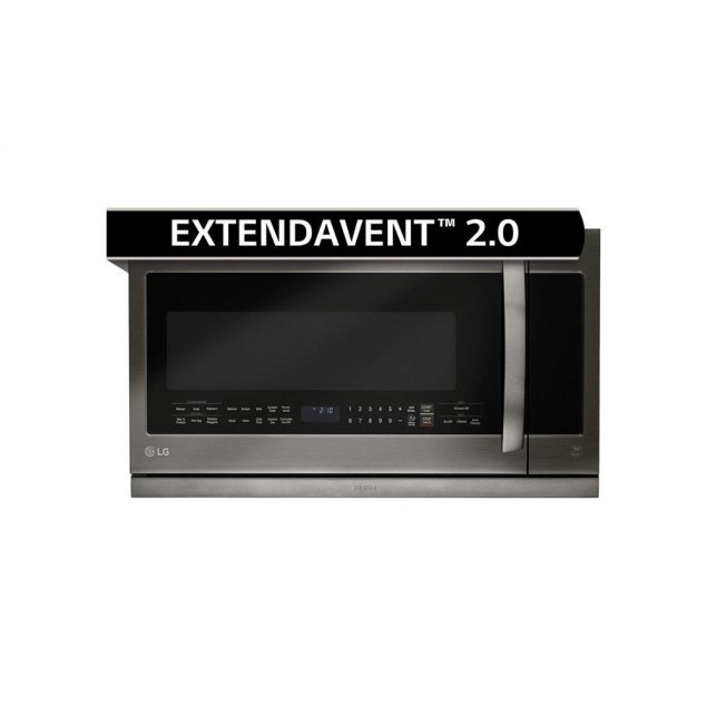 LG Appliances LG Black Stainless Steel Series 2.2 cu.ft. Over-the-Range Microwave Oven