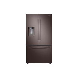Samsung23 cu. ft. Counter Depth 3-Door French Door Refrigerator with CoolSelect Pantry in Tuscan Stainless Steel