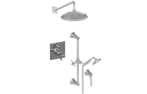 Full Pressure Balancing System - Shower and Handshower (Rough & Trim)