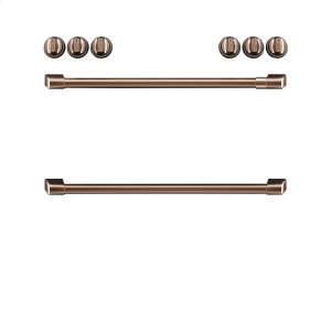 Cafe AppliancesFront Control Induction Knobs and Handles - Brushed Copper