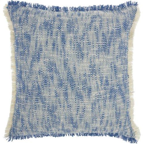 "Life Styles Sh020 Blue 20"" X 20"" Throw Pillows"