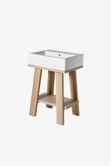 """Arden Single Washstand Packaged with Three Hole Sink 23 3/4"""" x 18 1/2"""" x 35"""" STYLE: ANWS01"""