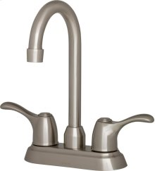 Chrome Allerton Two Handle Bar Faucet