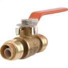 Brass Push Ball Valve Product Image