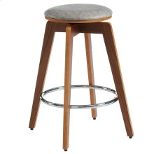Rotman 26'' Counter Stool, set of 2, in Grey