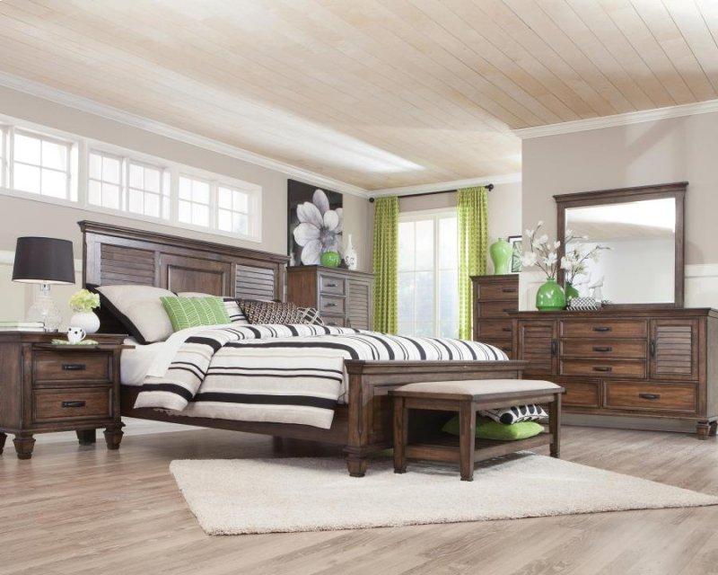 Key West Style Bedroom Set